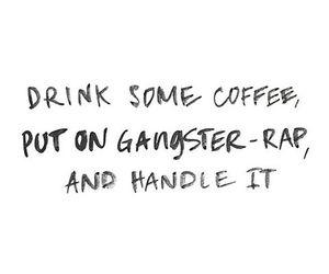90s, coffee, and gang image