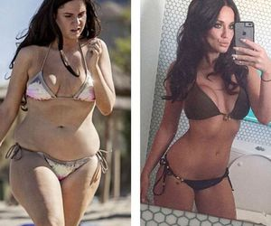 before, body, and brunette image