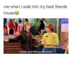 funny, best friends, and friendship image