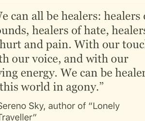 healing, inspiration, and inspirational image