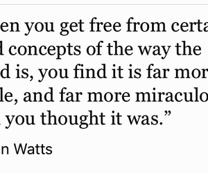 alan watts, inspiration, and inspirational image