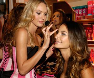 make up, pink collection, and victorias secret image