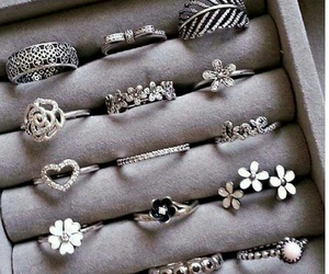 rings, accessories, and flowers image