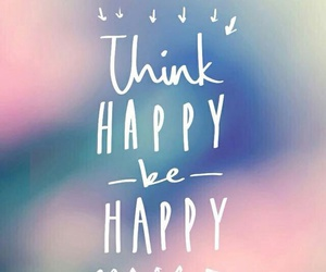 happy, think, and wallpaper image