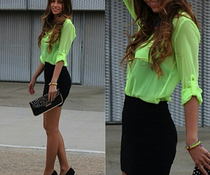 casual, girls, and fashion image