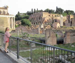 italy, rome, and roman forum image