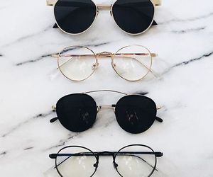 fashion, glasses, and sunglasses image