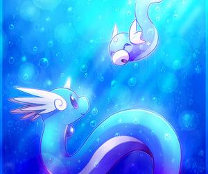 dragon, dratini, and pokemon image