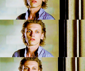 Jamie Campbell Bower, model, and the mortal instruments image