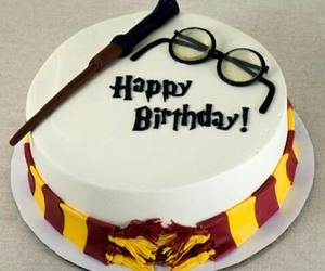 birthday, cake, and harry potter image