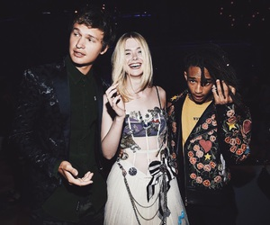 Elle Fanning, jaden smith, and ansel elgort image