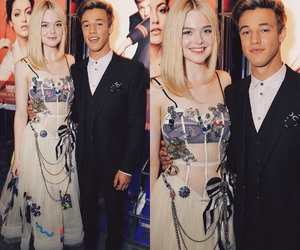 celebrate, Elle Fanning, and cameron dallas image