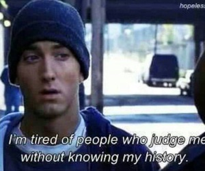 eminem, quote, and judge image