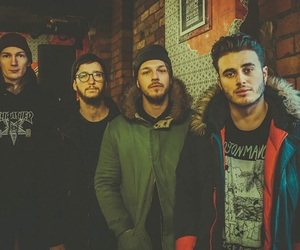 band, music, and moose blood image