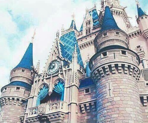 disney, castle, and princess image