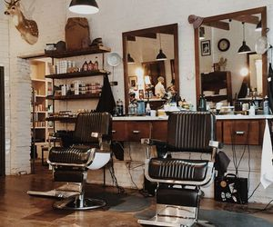 barber, home, and inspirations image