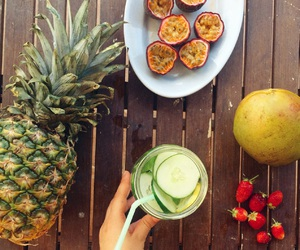 ananas, diet, and food image
