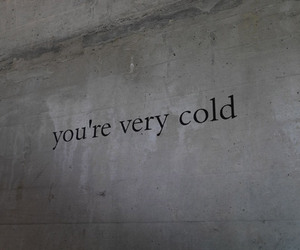 art, cold, and wall image