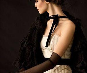 black, fashion, and cloak image