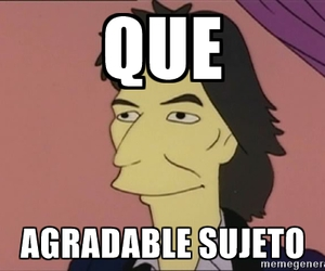 los simpsons and que agradable sujeto image