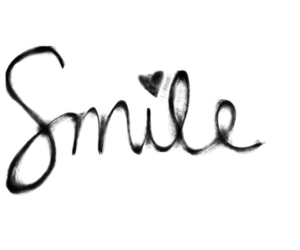 smile, text, and heart image