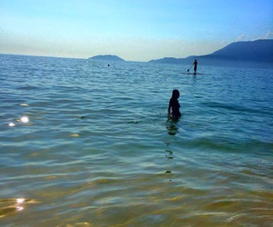 beach, Ilhabela, and sun image
