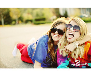 friends, girl, and cute image
