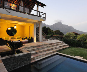 bedroom, cape town, and glam image