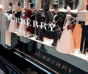 Burberry, fashion, and clothes image