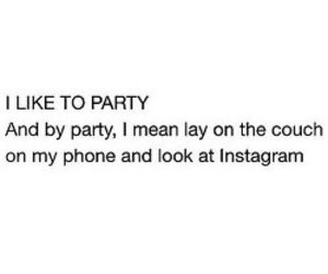 party, quote, and instagram image