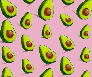 avocado, fancy, and green image