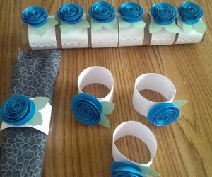 birthday party, etsy, and paper flowers image