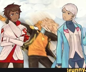 blanche, pokemon, and Spark image