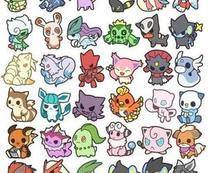 pokemon and chibi image