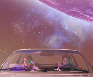 aesthetic, space, and colors image