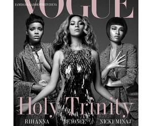 rihanna, nicki, and holy trinity image