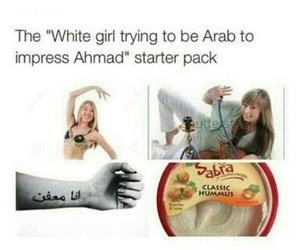 arab, funny, and starter pack image