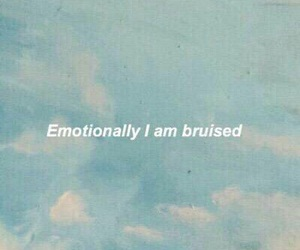 quotes, sad, and bruise image