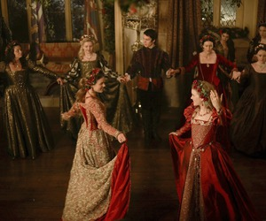 The Tudors, six wives, and johnathan rhys meyers image