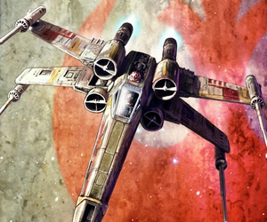 rebels, star wars, and x-wing image