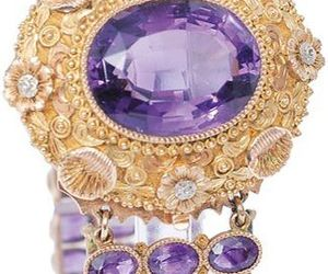 19th century, amethyst, and jewelry image