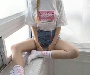 asian, pink, and fashion image