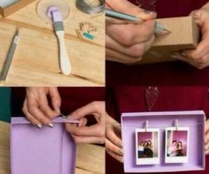 diy, photo, and gift image