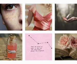 aesthetic, harry potter, and pink image