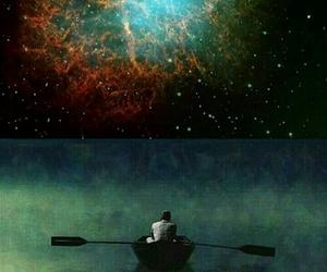alone, boy, and psycodelic image