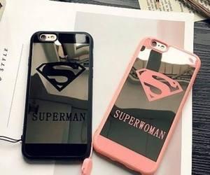case, superman, and superwoman image