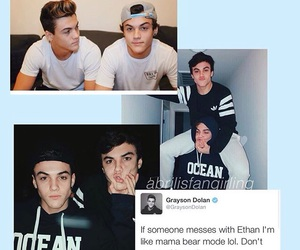 ethan, Hot, and graysondolan image