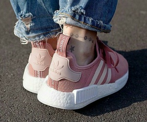 fashion, shoes, and Tattoos image