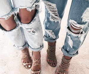 clothe, grunge, and jeans image