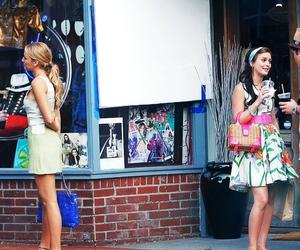 gossip girl, chuck, and blair image
